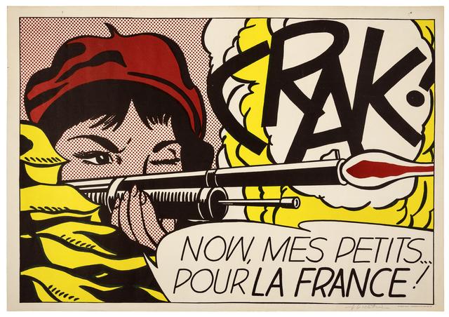 Roy Lichtenstein, 'Crak!', Print, Offset lithograph, Hindman