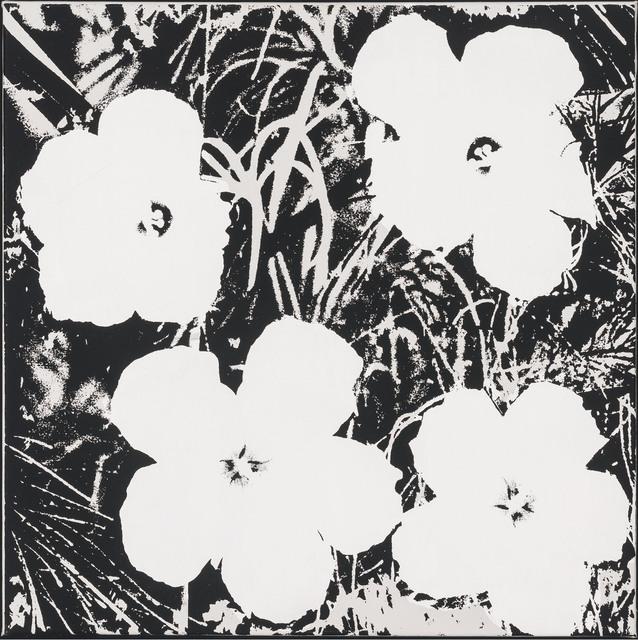 , 'Flowers,' 1978, Gagosian