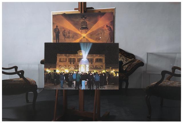 """Giulio Paolini, 'Studio per """"Sala d'attesa""""', 2011-2012, Repetto Gallery"""