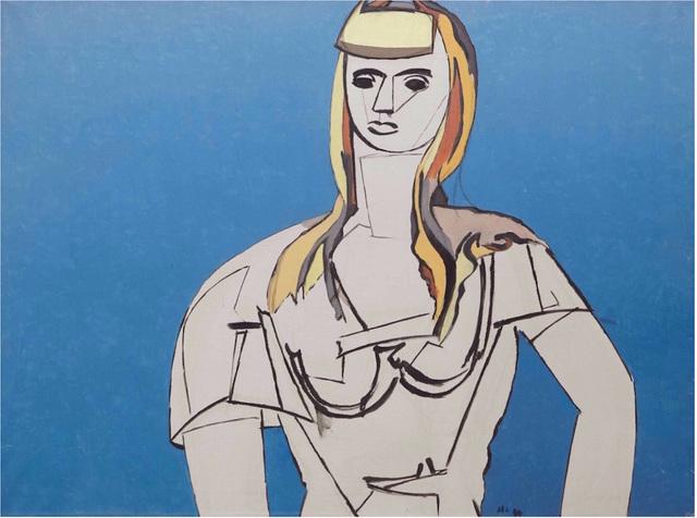 , 'La fille aux cheveux jaunes,' , BAILLY GALLERY