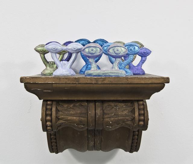 , 'Augenpaare (votive transformation),' 2016, Galerie Kandlhofer