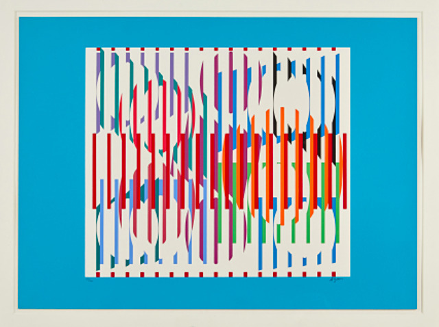 Yaacov Agam, 'Composition, (Hommage aux Prix Nobel)', 1975, Anders Wahlstedt Fine Art