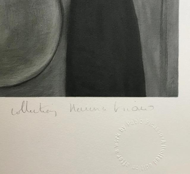 Pablo Picasso, 'FEMME AU CHAPEAU GRIS', 1979-1982, Reproduction, LITHOGRAPH ON ARCHES PAPER, Gallery Art