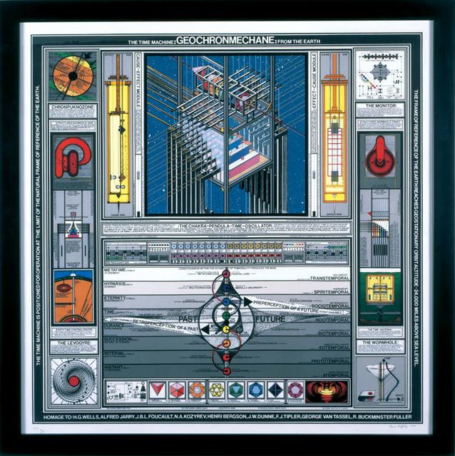 , 'GEOCHRONMECHANE: THE TIME MACHINE FROM EARTH,' 1990, Kent Fine Art