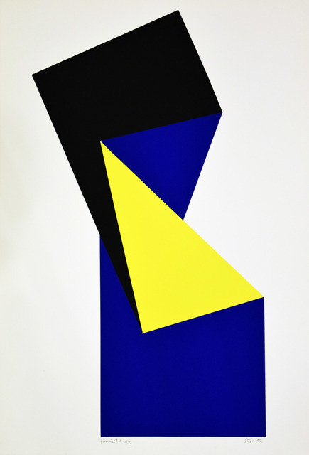 , 'Shaped II. _szitanyomat_100x70cm_,' 1989, VILTIN Gallery