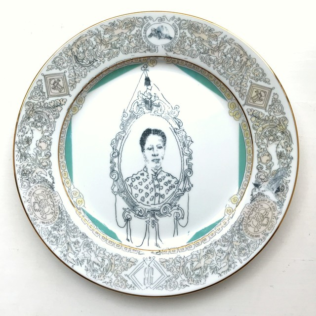 Roberto Lugo, 'Dinner Plate', 2018, Wexler Gallery