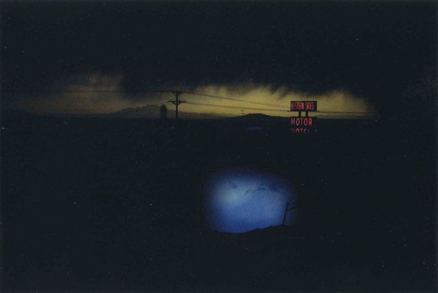 , 'Western Skies Motel, New Mexico, USA,' 1978, Les Douches La Galerie