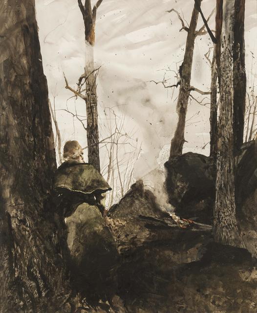 Andrew Wyeth, 'Big Rocks', 1974, Menconi+Schoelkopf