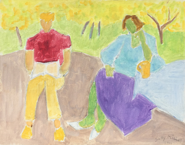 , 'Conversation,' 1981, Childs Gallery