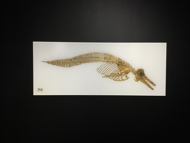 , 'ZMK, Bones White,' 2018, Oliver Cole Gallery
