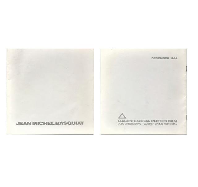 """Jean-Michel Basquiat, '""""Jean-Michel Basquiat- December 1982"""", First Catalogue Published on Basquiat's Work, 1982, Galerie Delta Rotterdam, RARE', 1982, VINCE fine arts/ephemera"""