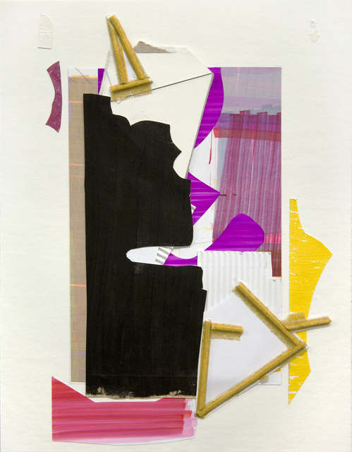 , 'untitled collage 02,' 2017, Pierre-François Ouellette art contemporain