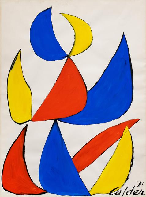 , 'Petal Arrangement,' 1971, Hollis Taggart
