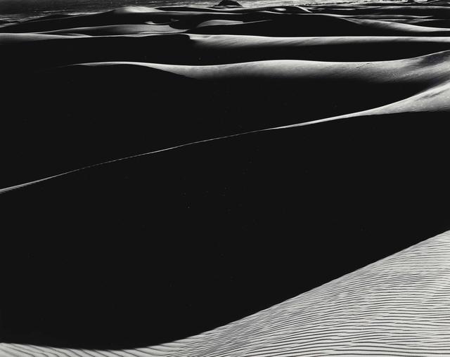 Edward Weston, 'Dunes, Oceano (Cole Print)', 1936, Seagrave Gallery