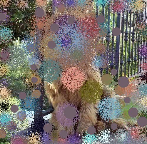Hilary Lloyd, 'Labrador Poodle III', 2017, Sadie Coles HQ