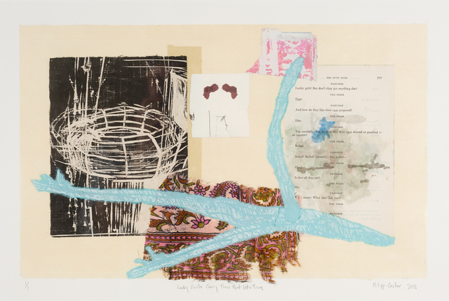 Marty Epp-Carter, 'Lucky Girls Carry Their Own Nest With Them', 2011, The Schoolhouse Gallery