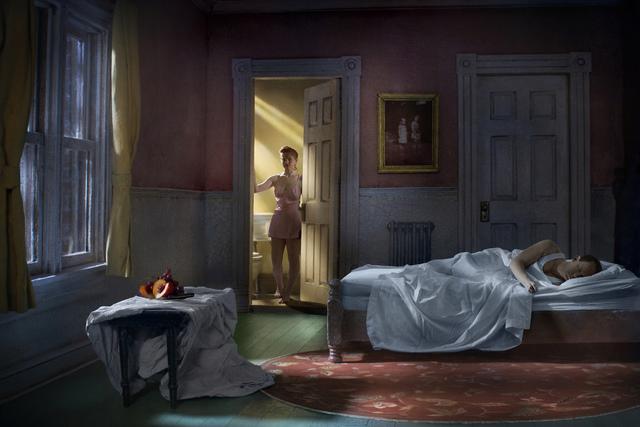 , 'Pink Bedroom (Still Life At Night),' 2013, KLOMPCHING GALLERY