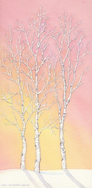 , 'Winter Sunset,' , Sparrow Gallery