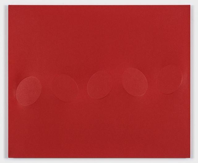 , '5 ovali rossi,' 2010, De Buck Gallery