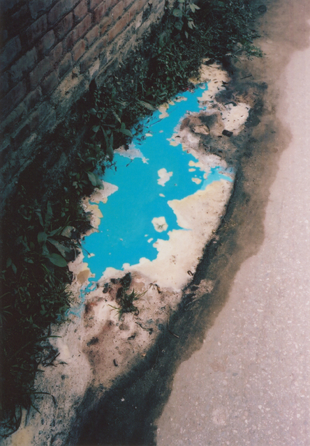 , 'Blue puddle, Kathmandu (Nepal), from the series As Dust Alights,' 2009, Foam Fotografiemuseum Amsterdam