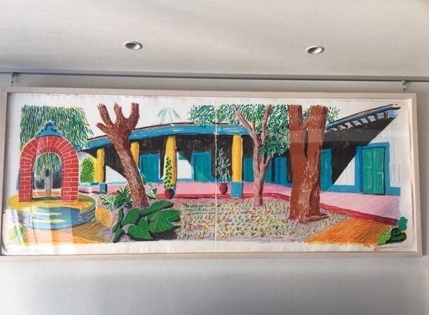 David Hockney, 'Hotel Acatlán: Second day, from: The Moving Focus Series', 1985, Curio