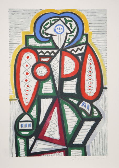 Pablo Picasso, 'Femme Assise', 1979-1982, RoGallery