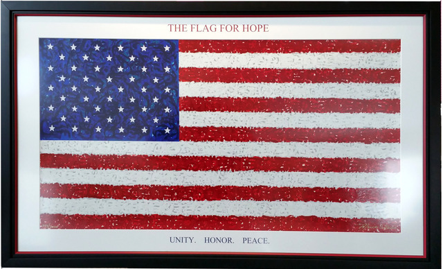 ", '""The Flag For Hope"" Limited Edition Serigraph,' 2017, Impact Art Gallery"