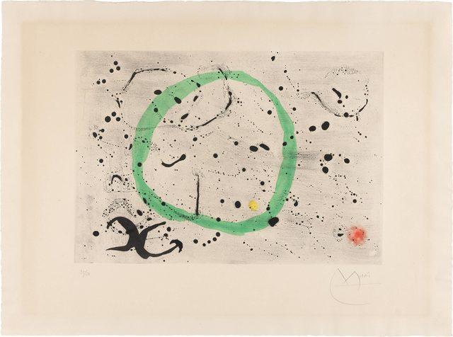 Joan Miró, 'Fond Marin I (D. 357)', 1963, Doyle