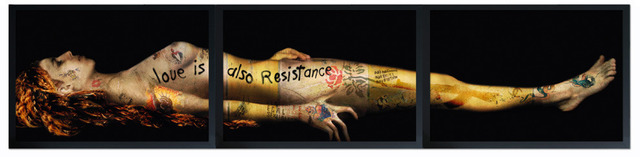 , 'ART IS ALSO RESISTANCE - MARIE MADELEINE MORTE,' 2013, Mark Hachem Gallery