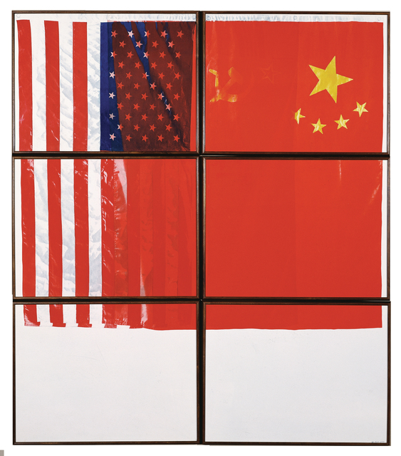 , '3 Flags for 1 Space and 6 Regions,' , Crown Point Press