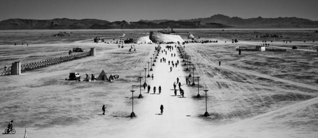 , 'L'Année Dernière à Burning Man,' 2010, Chainlink Gallery