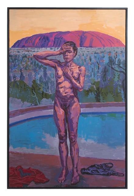 Graham Nickson, 'Uluru:Shaman', Betty Cuningham