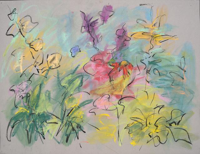 Mary Page Evans, 'Summer Garden Sketch', 2018, Somerville Manning Gallery
