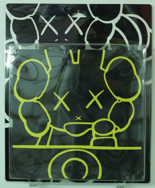 KAWS, ' Untitled (Chum/Miffy) (Package Painting Series)', 2001, Carmichael Gallery