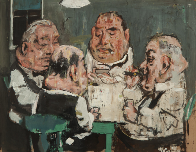 , 'The Card Players,' 1940, ACA Galleries