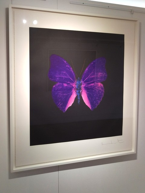 , 'Purple/Blue Butterfly(Artist Proof)) from the 'Souls on Jacob's Ladder take their Flight' Portfolio,' 2007, Reuben Colley Fine Art