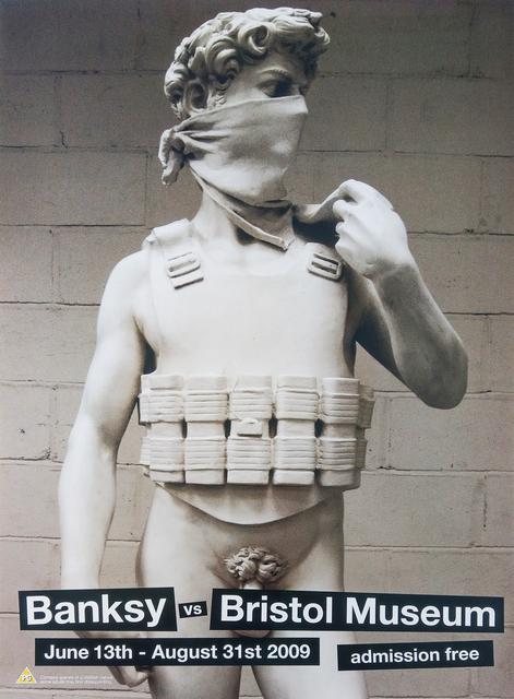 Banksy, 'David Banksy vs Bristol Museum', 2009, New Union Gallery