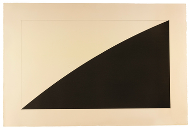 Ellsworth Kelly, 'Black Curve (Radius 12'),' 1976, Sotheby's: Contemporary Art Day Auction