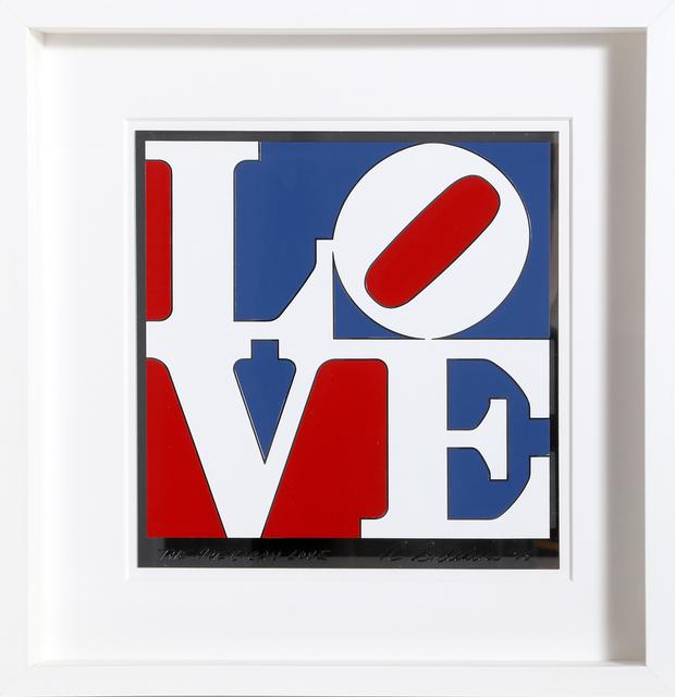 Robert Indiana, 'American Love', 1975, Design/Decorative Art, Enamel on aluminum, RoGallery Gallery Auction