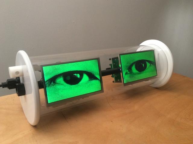 , 'Electric Eyes III,' 2015, Bryce Wolkowitz Gallery