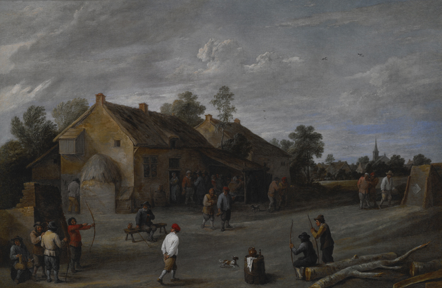 David Teniers the Younger, 'The Archers', Late 1640s, Indianapolis Museum of Art at Newfields