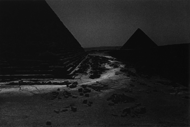 , 'Giza,' 2000, Quadrado Azul