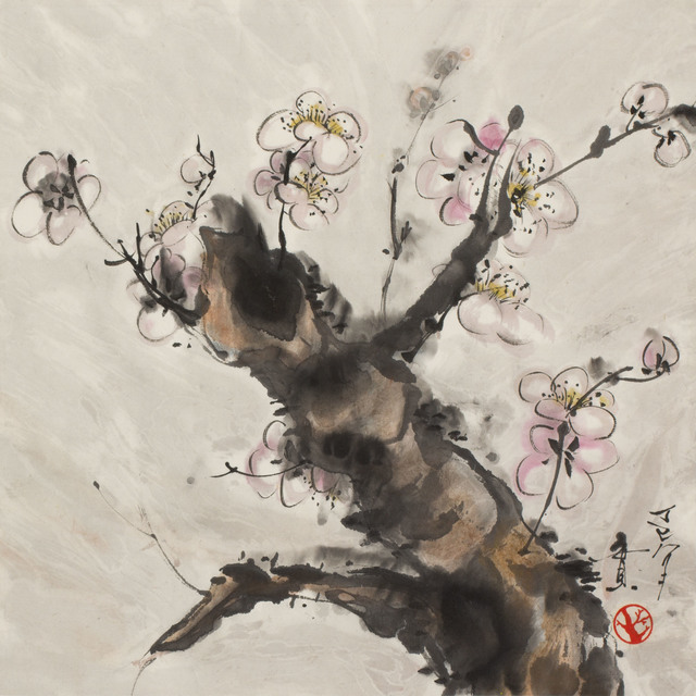 , 'Flowering Plum Branch (MA-322),' 1977, Erik Thomsen
