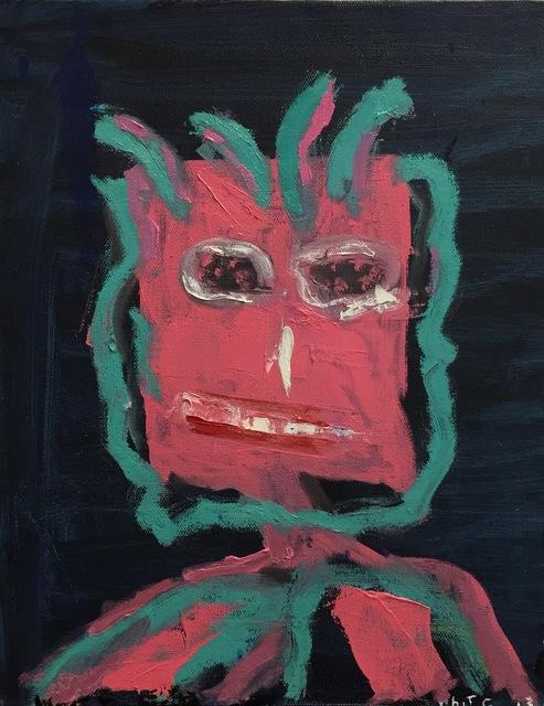 , 'Untitled Little Face,' 2013, Paraphé