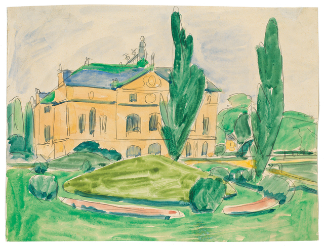 , 'Palais im Großen Garten,' , Ludorff