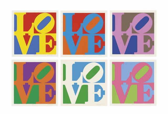 Robert Indiana, 'The Garden of Love', 1982, Christie's
