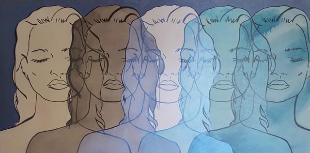 , 'Untitled (Blue Kate),' 2016, Artspace Warehouse