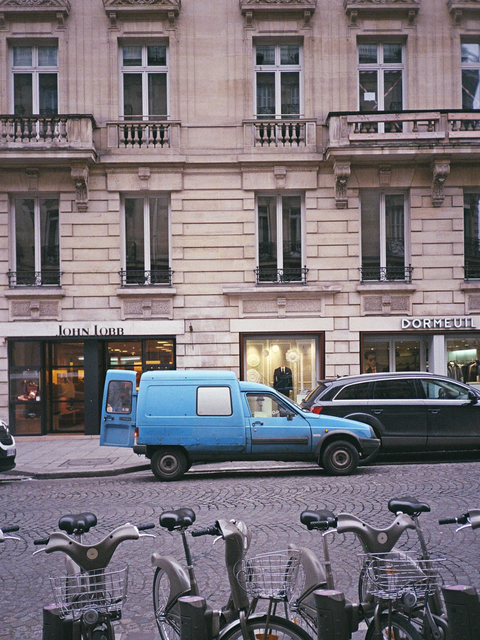 , 'Blue Delivery Truck (Rue Saint-Honoré),' 2016, HARPY