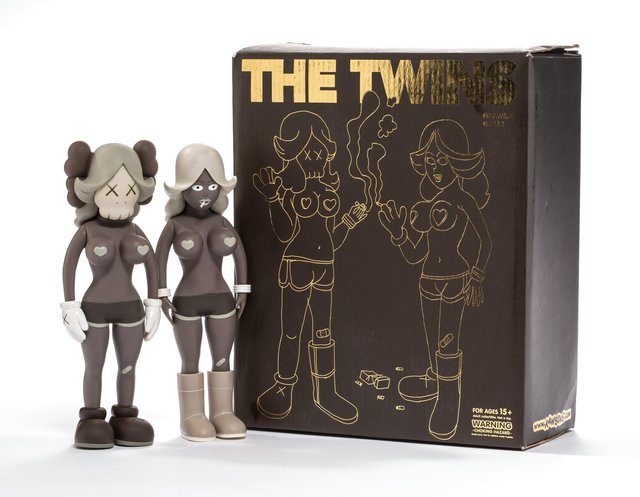 KAWS, 'The Twins (Brown) (two works)', 2006, Heritage Auctions