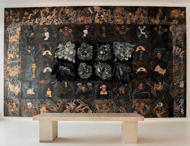 , 'Ukubhabha / Kumbururuka / To Fly - We want to fly but we need a Moroka,' 2018, The Melrose Gallery